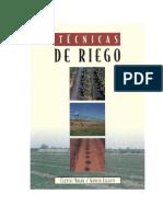 Tecnicas de Riego - Fuentes Yague/Garcia Legaspi