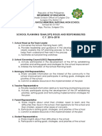 SPT Roles&Responsibilities