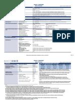 Tarifas y Comisiones Banca Personas Mayo 2018