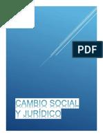 cambio social y juridico