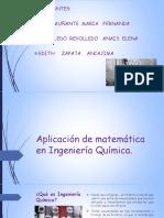 Aplicación de matemática en Ingeniería Química.pptx
