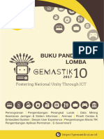 Panduan Gemastik 2017 v2.5 1 November 2017 Cover