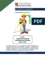 Programa Analítico Topografía - Miguel b