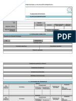 Instrumento Planeación Estratégica CECYTEM