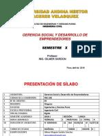 Gerencia Social I-2
