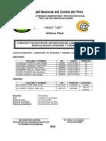 Proyección Social UNCP Informe Final