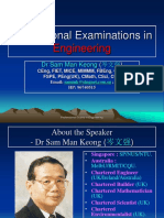 Professional Examinations in Engineering-2011a