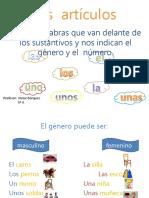 Los Artículos 5ºA.pptx