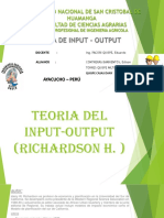 10. Teoria de Input-output
