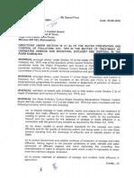 STP-Effluent Discharge Standards in India-2017