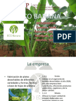 Ppt Ecobanana Marketing Estratégico