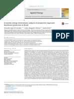 Economic-Energy-Environment Analysis of Prospective Sugarcane Bioethanol