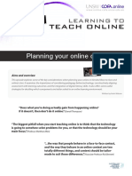 Planning Your Online Class