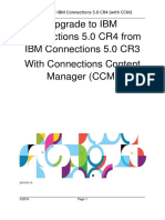 Upgrade Guide to IBM Connections 5.0 CR4 With Connections Content Manager