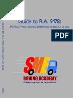 RA 9178 Barangay Micro Business Enterprise Law