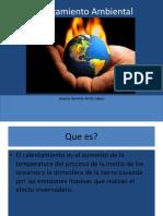 Calentamiento Ambiental exposicion