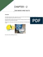 Acid Base and Salt