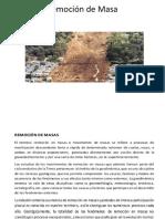 Diapositiva Remosion de Masa