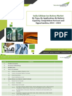 India Lithium-ion Battery Market Forecast and Opportunities, 2023_Brochure