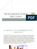 Escenarios Futuros Del Clima