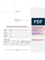 00 Procedure for Document and Record Control Preview En