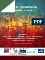 Ciclo de Conferencias 2018_CELEI_Tarea Crítica de La Educación Inclusiva