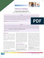 Jurnal melanoma maligna