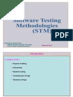 Software Testing Methodologies material