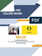 draft to maximiliano gonzalez - college research presentation  1