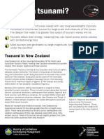 What is a Tsunami Fact Sheet