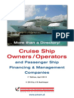 AMEM Cruise Ship Owners and Operators
