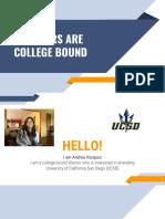 draft 2  andrea vazquez - college research presentation