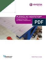 Plexiglas Heatstop Acrylic Sheet