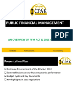 An Overview of PFM Act 2015 Regulation
