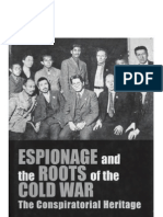 Espionage and the Roots of the Cold War: The Conspiratorial Heritage