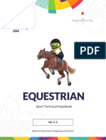 Equestrian Technical Handbook, the 18th Asian Games_6 June 2018