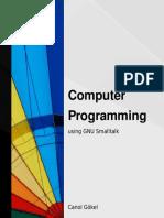 GnuSmalltalk - Programming using GnuSmalltalk.pdf