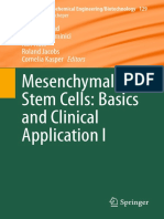 Mesenquinal Stem Cells  Basics and Clinics