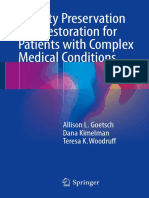 Fertility Preservation and REstoration for Patient With Complex Medical Conditions