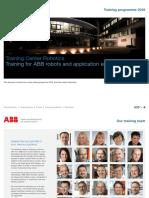 Training Programme Robotics Germany 2016