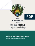 Yoga Sutra-Digital Workhop Guide