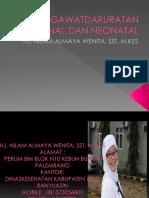 Kegawatdaruratan Maternal Dan Neonatal