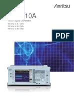 MG3710A Data Sheet - New