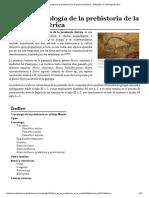 Anexo_Cronología de La Prehistoria de La Península Ibérica - Wikipedia, La Enciclopedia Libre
