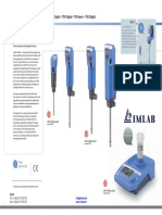 Ultra Turrax Dispersers Brochure Ika Imlab ENG