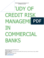 A Study of Credit Risk Management in Commercial Banks [www.writekraft.com]