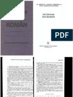 Dictionar Rus - Roman
