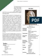 Sócrates - Wikipedia, La Enciclopedia Libre