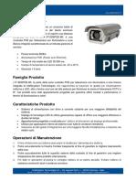 IT-SD6POE-WL - Custodia POE per Telecamera con Illuminatore a Luce Bianca