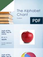 the alphabet-english